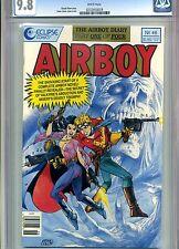 AIRBOY #46 CGC 9.8 ERNIE COLON COVER ECLIPSE COMICS 1989