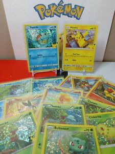 POKEMON McDonalds 25th Anniversary (2021) Complete your set HOLO cards you pick!