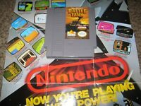 GARY KITCHEN'S BATTLETANK 1990 NES CLEAN TESTED VERY HQ USED W/GR8T LABELS