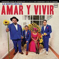 La Santa Cecilia Amar y Vivir Live in Mexico CD+DVD NEW Mon Laferte Rebel Cats