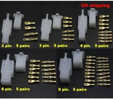 25 Sets Automotive 2.8mm Wire Connector 2 3 4 6 9 Pin Car Ebike Scooter