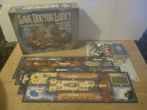 Save Doctor Lucky - Family Board Game - by James Ernest *Complete*