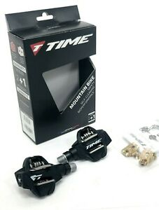 Time ATAC XC 4 Mountain Bike Pedals - Dual Sided Clipless Composite WITH CLEATS