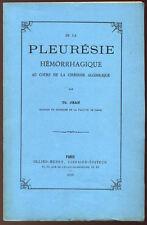 TH. JEAN, DE LA PLEURÉSIE HÉMORRHAGIQUE AU COURS DE LA CIRRHOSE ALCOOLIQUE