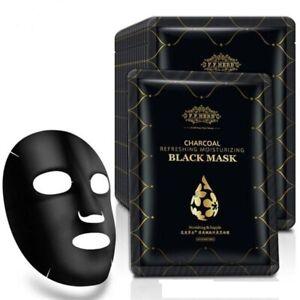 Charcoal Face Mask Essence Moisturizing Collagen Anti-ageing mask UK