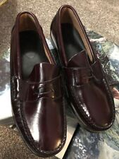 Kids Sperry Newport Burgundy Leather Loafer