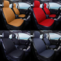 Universal Car Seat Cover Breathable Linen Fabric Pad Mat Chair Cushion Protector