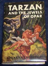 TARZAN & THE JEWELS OF OPAR Edgar Rice Burroughs G&D 1958 Adventure Stories Boys