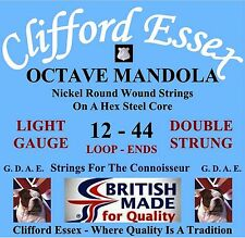 Clifford Essex 5 String Banjo Strings. Bluegrass & Many More. Made in Britain. Light Nickel Wound 4th Plain Steel 3rd 9 - 20