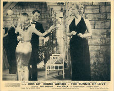 THE TUNNEL OF LOVE DORIS DAY GIG YOUNG ELISABETH FRASER ORIGINAL LOBBY CARD