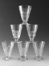 Rowland Ward Crystal-cocktail / sherry en verre Set (6) - coupé par MOSER