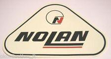 ADESIVO MOTO anni '80 / Old Original Sticker NOLAN HELMETS CASCO (cm 10 x 7)