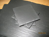 Handmade Rustic Natural Slate Placemats & Coasters-set of 2,4,6,8,10-16-Gift
