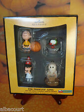 HALLMARK HALLOWEEN 08 THE PEANUTS GANG IT'S THE GREAT PUMPKIN CHARLIE BROWN USED