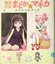 Puella Magi Madoka Magica promo booklet art anime data book official w/ postcard
