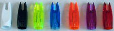 1 DOZ 5/16 PLASTIC NOCKS VARIOUS COLOURS SUIT LONGBOW ARROWS