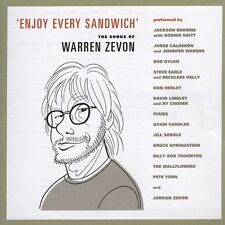 Various Artists, Enjoy Every Sandwich: Songs of Warren Zevon, Excellent BIN