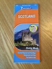 2009 Michelin UK Tourist Map 601 - Scotland