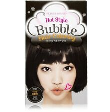 *ETUDE HOUSE* Hot Style Bubble Hair Coloring ( #BK01 Deep Black) **New**