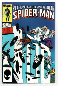 Peter Parker The Spectacular Spider-Man No 100 - 1984 HIGH GRADE! KEY ISSUE