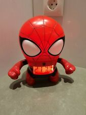 Marvel ultimate SPIDER MAN Bulb Botz Light Up Figure Alarm Clock