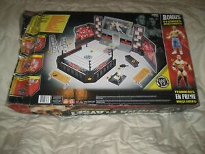 "2008 Jakks Pacific WWE RAW ""Giant Arena Playset"" Wrestling Rink , Ring , RARE !!"