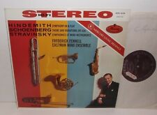AMS 16106 Hindemith Schoenberg Stravinsky Eastman Wind Ensemble Fennell