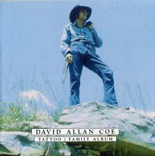 David Allan Coe - Tattoo/Family Album [New CD]