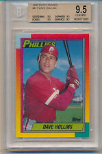 1990 Topps Traded Dave Hollins (Rookie Card) (#41T) (All 9.5 Sub Grades) BGS9.5