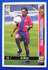 CARD FUTBOL LFP - LAS FICHAS DE LA LIGA 98-99 MC - N. 13 - CIRIC - BARCELONA