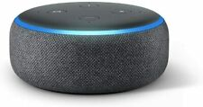 Echo Dot 3RD GEN Smart Speaker with Alexa, Charcoal, BRAND NEW