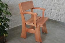 Stühle Hochlehner Sessel Kiefer Holz Holzmöbel Stuhl 55x53,5cm braun