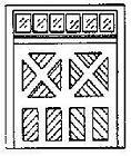 GRANDT LINE HO 1/87 SCALE DOOR BAGGAGE ROOM ON DRGW STATIONS(3)|BN 5080