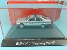 HERPA PRIVATE COLLECTION  BMW M5 HIGHWAY PATROL 1:87