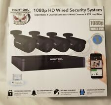 Night Owl 8-Channel 1080P 1Tb Dvr Wired Security Surveillance System (C2x1-84)
