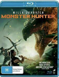MONSTER HUNTER Blu-Ray BRAND NEW Region B