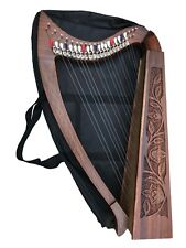Lever Harp 22 Strings with Levers & Extra Strings, Carry Soft Bag & Tuning Key