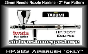 Iwata Eclipse Takumi Airbrush HP.SBST .35mm ( Airbrush Only ) + Free Freight