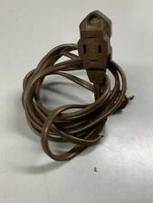 GE Extension Cord Indoor Brown Strong Durable Light Duty 6FT