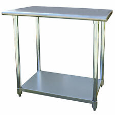 Sportsman Series Stainless Steel Work Table 24 x 36 Inches
