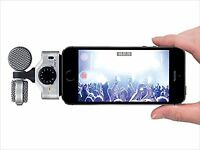 ZOOM iQ7 MS Stereo Microphone for iPhone/iPad/iPod touch F/S from JAPAN