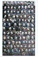 American Civil War Union Officers Custer etc. American History Military Postcard