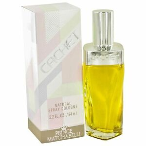 Cachet by Prince Matchabelli 3.2 oz / 94 ml Cologne spray for women