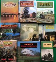 9 Steam Railway Books LMS150 SR150 Awdry Locomotives Museum VGC