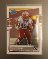 2020 DONRUSS OPTIC CHASE YOUNG RATED ROOKIE CARD WASHINGTON