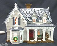 GOTHIC FARMHOUSE #54046 American Architecture Dept 56 Snow Village NO SLEEVE