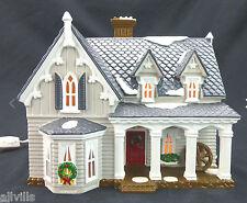 GOTHIC FARMHOUSE #54046 American Architecture Series Dept 56 Snow Village