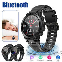 Smart Watch Heart Rate Monitor Blood Pressure Fitness Tracker Remote Camera IP68