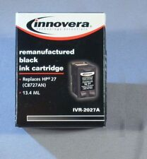NEW INNOVERA IVR-2027A (REMANUFACTURED C8727AN 27) INK CARTRIDGE BLACK 13.4 ml
