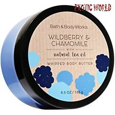 BATH AND BODY WORKS WILDBERRY & CHAMOMILE BODY BUTTER  6.5 OZ